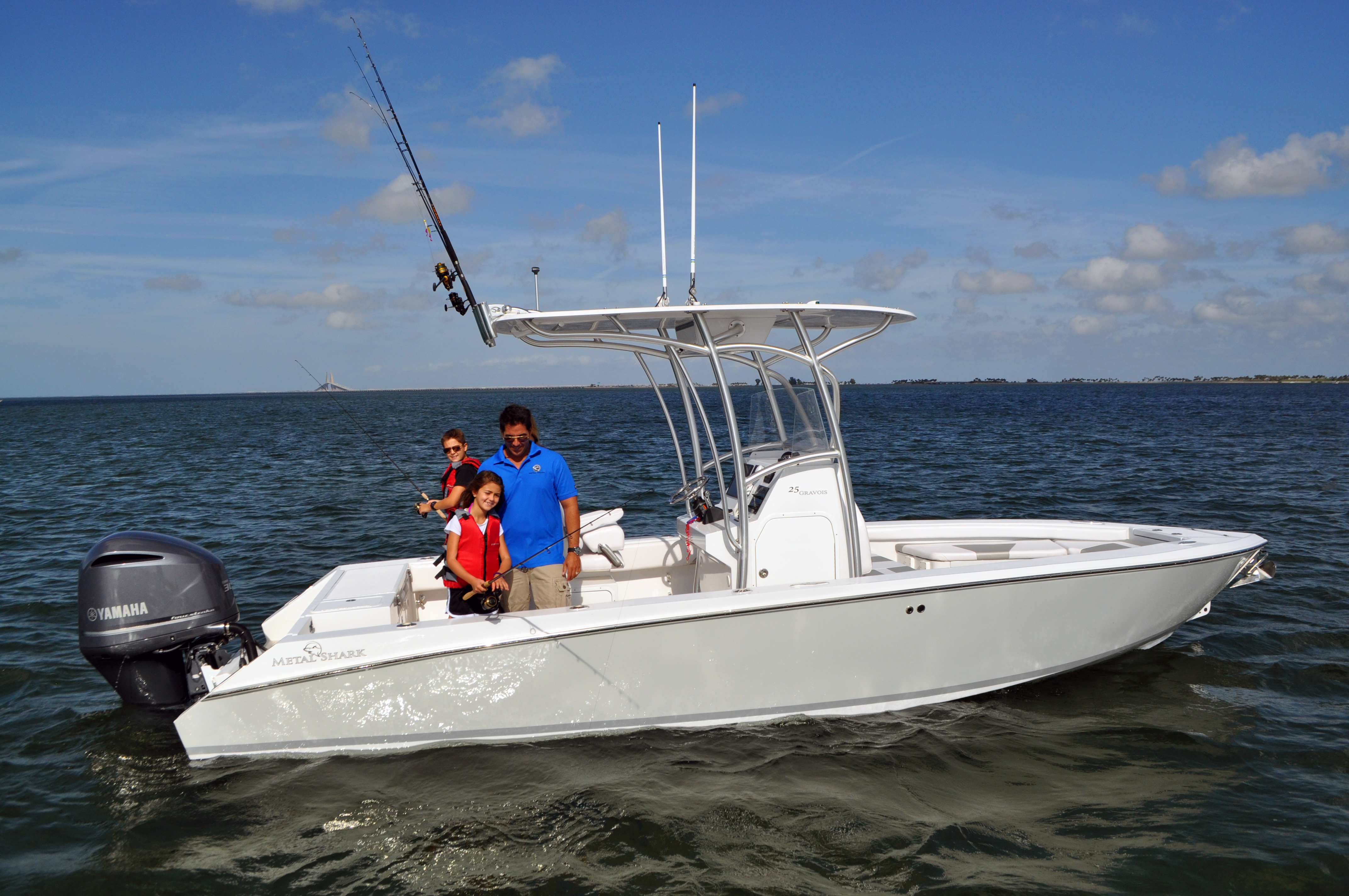 Metal Shark Introduces Aluminum 25 Bay Boat And Announces New Recreational Fishing Boat Line Metal Shark