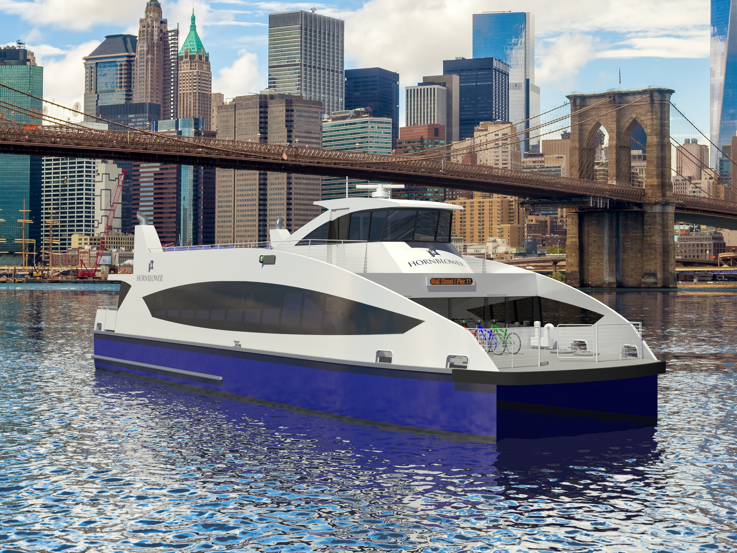 July 7, 2016: Metal Shark to Build Passenger Ferries for New