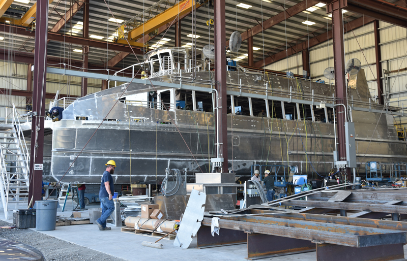 Metal Shark's Franklin Shipyard | Metal Shark