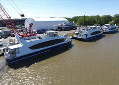 September 26, 2017: Metal Shark Building Four 350-Passenger Vessels and an Additional 150-Passenger Vessel for Hornblower