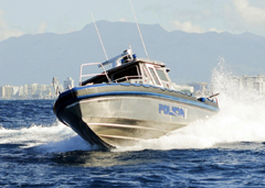 January 15, 2018: Another New Metal Shark Patrol Boat Joins the  Puerto Rico Police Department Fleet