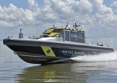 July 12th, 2018: Metal Shark and ASV Global Introduce SHARKTECH Autonomous Vessels