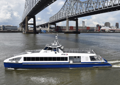 November 12th, 2018: Metal Shark Completes New Passenger Ferries for New Orleans Regional Transit Authority