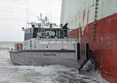 February 4th, 2019: Metal Shark Delivers New Pilot Boat to Brazos Pilots Association