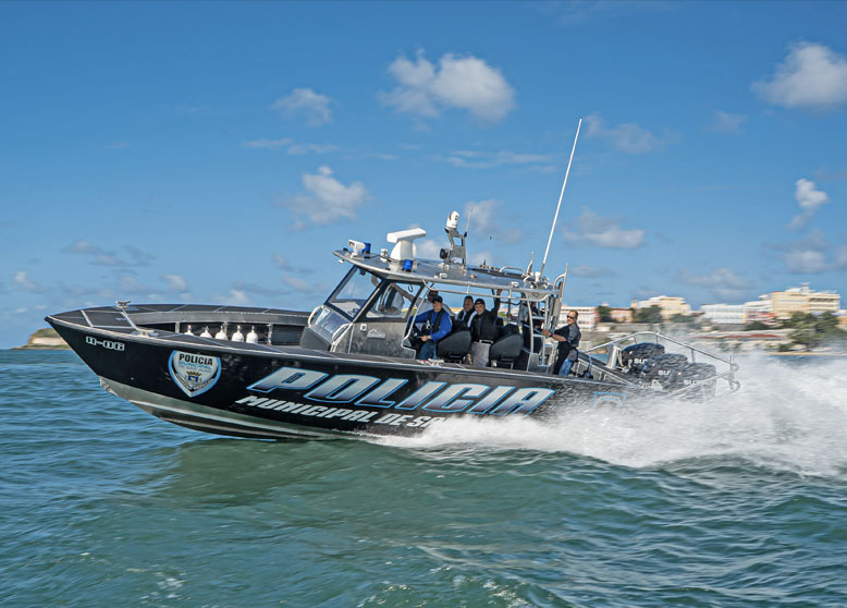 January 27th, 2020: Metal Shark Expands Puerto Rico Customer Base with Latest Law Enforcement Vessel Delivery