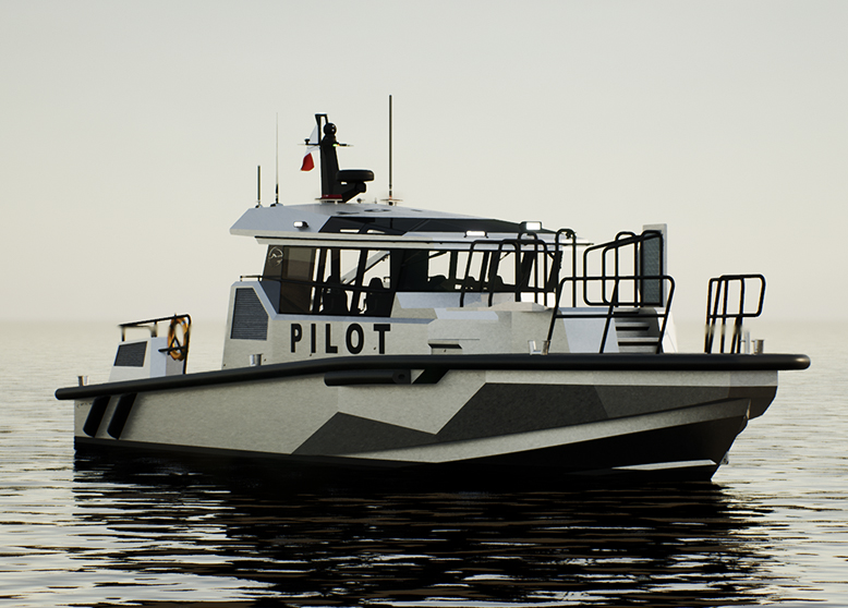 April 23rd, 2020: Metal Shark Announces New 55-Foot Pilot Boat Now Under Construction