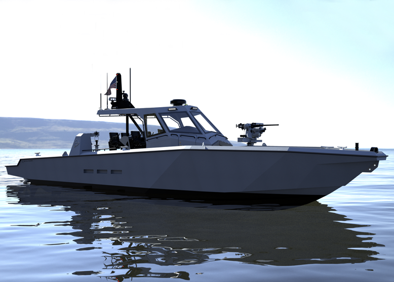 "June 18th, 2020: Metal Shark Introduces 52-Foot, 80 MPH Military ""Super Interceptor"" with Production Underway"