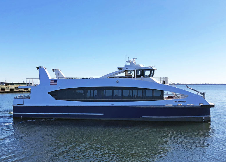 December 2nd, 2020: Metal Shark Completes Four-Year Run of Production Development for New York City Ferry Services