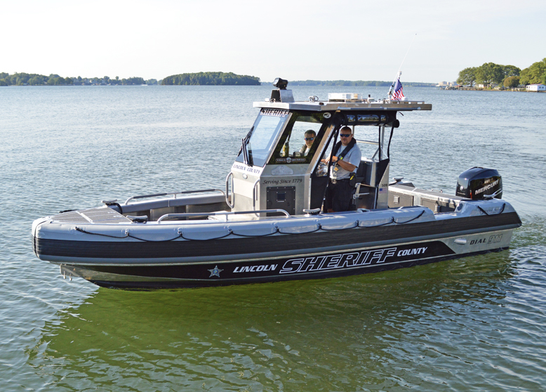 July 7th, 2021: Lincoln County Sheriff Takes Delivery of New Metal Shark Patrol Boat
